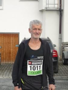Herbert Wulf, mit 62 Jahren der älteste Fleckenberger Läufer