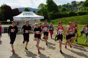 Start 1,7 km Strecke