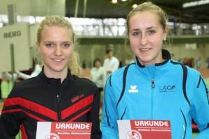 Anna Gawehn (rechts)