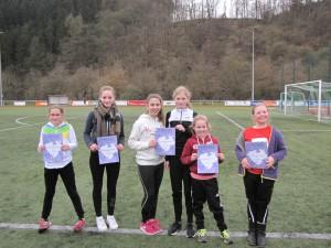 VfL Nachwuchsläuferinnen